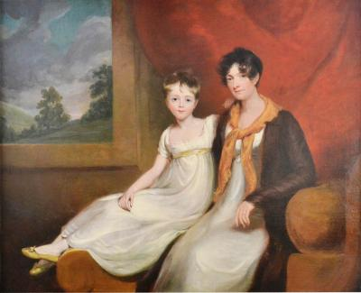 Mrs Spencer Cooper and her Daughter