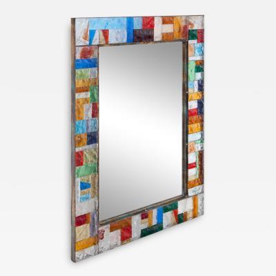 Multicolored Mirror By Poliarte