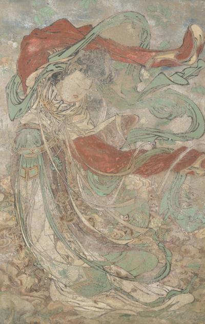 Mural Chinese Ming Dynasty