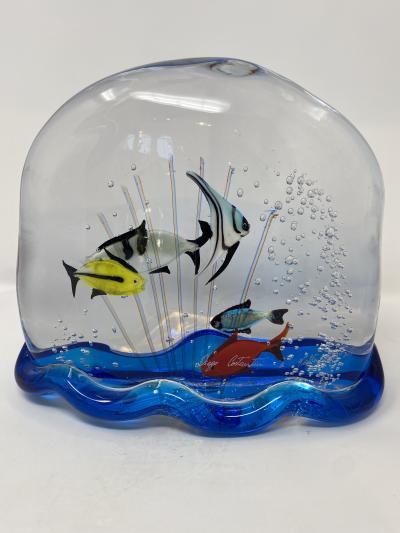 Murano Glass Aquarium by Costantini