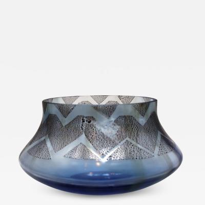 Murano Glass Centerpiece Bowl by Seguso