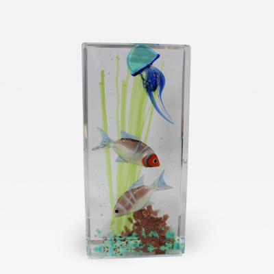 Murano Glass Paperweight by Costantini