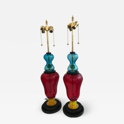Murano Glass Studio Table Lamps