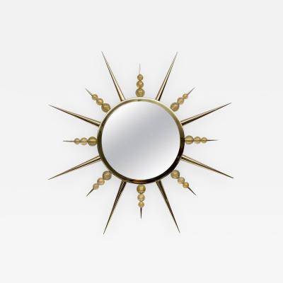 Murano Glass Sunburst Mirror
