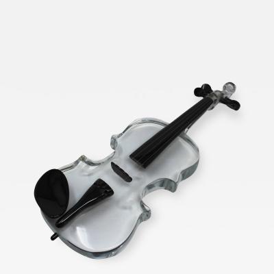 Murano Glass Violin by Pino Signoretto