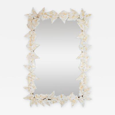 Murano glass butterfly surround mirror