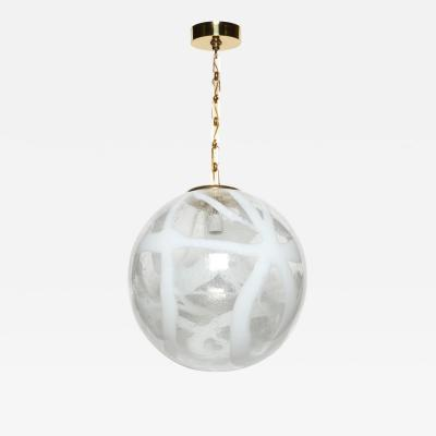 Murano glass ceiling pendant