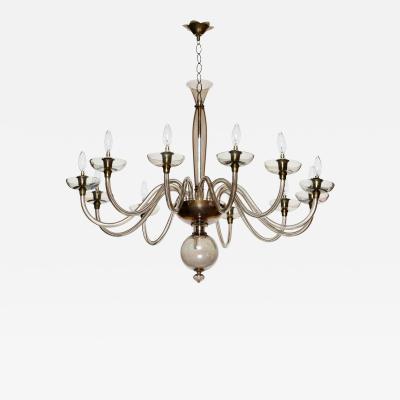 Murano glass chandelier by Pietro Toso
