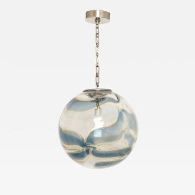 Murano glass globe ceiling pendant