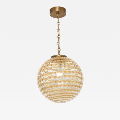 Murano glass globe ceiling pendnat