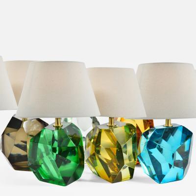 Murano rock table lamps