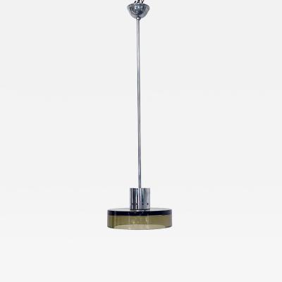 Murano smoked glass chandelier 1960s