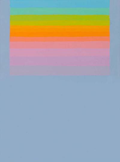 Murray Hantman Murray Hantman Abstract Painting on Board USA 1960s
