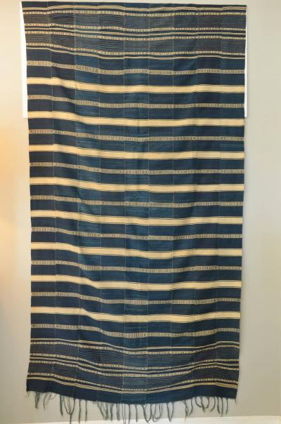 Museum Quality West African Indigo Textile