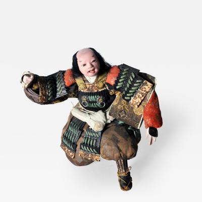 Musha Samurai Warrior Figure c 1850