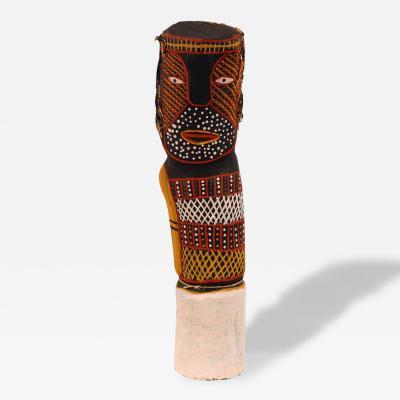 Myra Ann Tipiloura Australian Aboriginal Ironwood Bima Figure Carving Tiwi Island