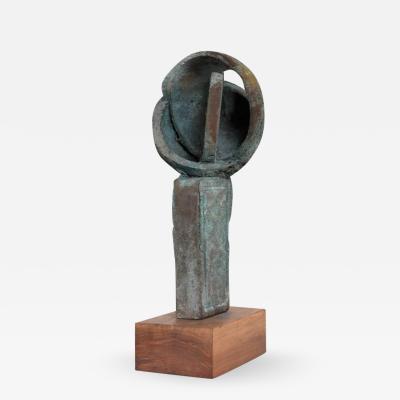 Myrna M Nobile Myrna M Nobile Bronze Abstract Sculpture 6 Mid Century Period