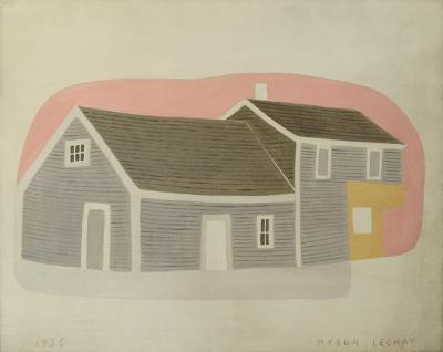 Myron Lechay Massachusetts House and Barn