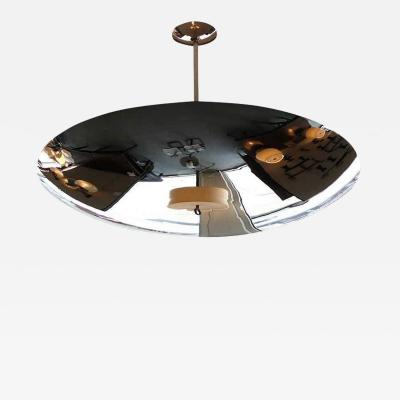 NICKEL DOME CEILING PENDANT