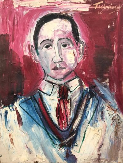 Nahum Tschacbasov Portrait of J Bickel