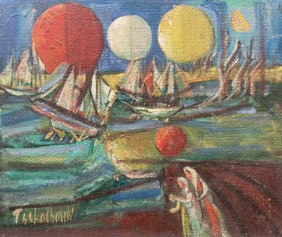 Nahum Tschacbasov Ships and Orbs