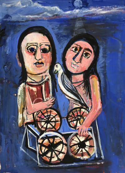 Nahum Tschacbasov Sisters