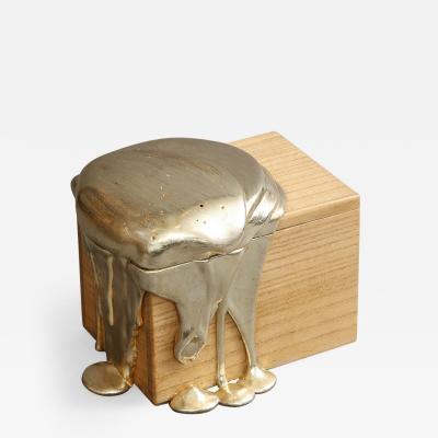 Nancy Lorenz White Gold Pour Box