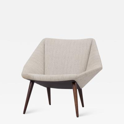 Nanna Ditzel Low Back Lounge Chair 93 by Nanna Ditzel for S ren Willadsen