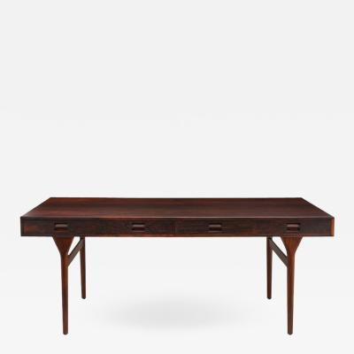 Nanna Ditzel Nanna Ditzel Jorgen Ditzel Rosewood Four Drawer Desk Denmark 1950s