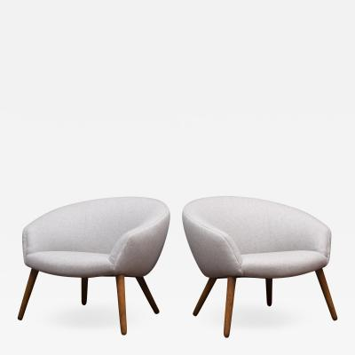 Nanna Ditzel Nanna Ditzel Lounge Chairs Model AP 26