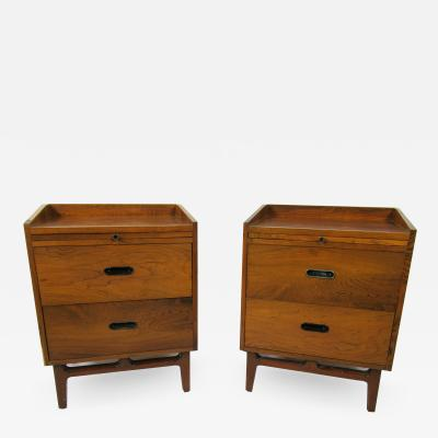 Nanna Ditzel Nanna Ditzel Pair of Rosewood Bedside Tables S ren Willadsen M belfabrik