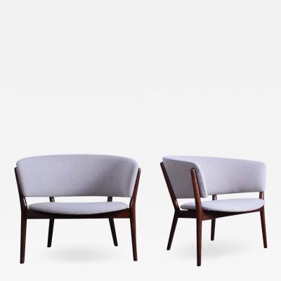 Nanna Ditzel Pair of Lounge Chairs by Nanna Ditzel