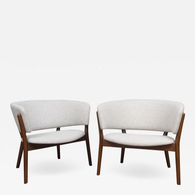 Nanna Ditzel Pair of Nanna Ditzel Lounge Chairs