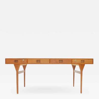 Nanna Ditzel Teak Witting Desk by Nana Ditzel for Soren Willadsen Denmark 1958
