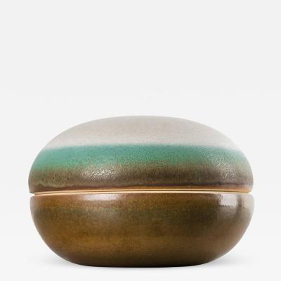 Nanni Valentini Ceramic Box by Nanni Valentini for Ceramica Arcore