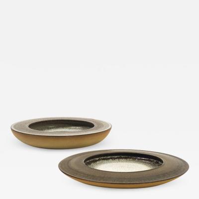 Nanni Valentini Pair of Centerpieces for Ceramica Arcore 1970s