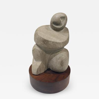 Naomi Feinberg Naomi Feinberg Buddha Sculpture in Limestone 1960s