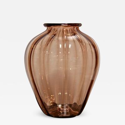 Napoleone Martinuzzi Napoleone Martinuzzi Italian Glass Vase
