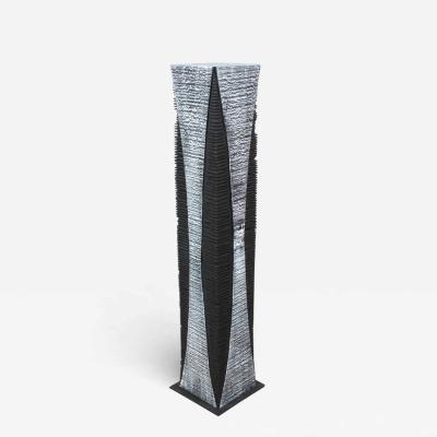 Natacha Heitz Contemporary Wood Sculpture Gratte Ciel 100