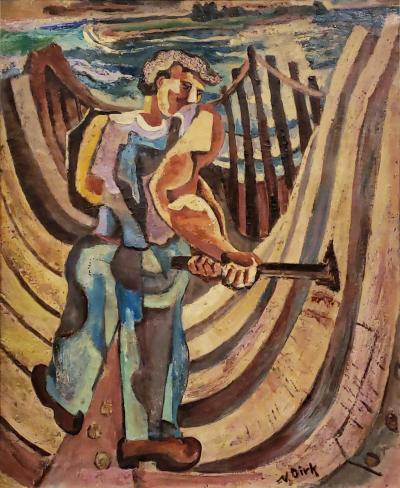 Nathaniel Dirk Nathaniel Dirk Boat Builder Circa 1938