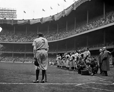 Nathaniel Fein The Babe Bows Out June 13 1948 printed later