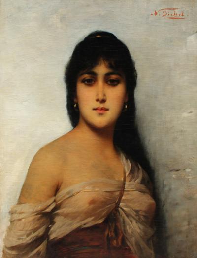 Nathaniel Sichel An Oriental Beauty