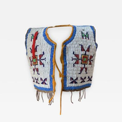 Native American Infants Beaded Vest