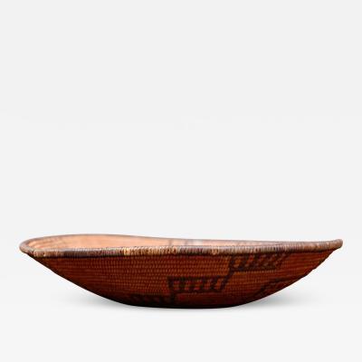 Native Indian Art POMO Collectible Coiled Degikup Basket