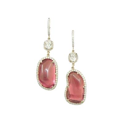 Natural Spinel Earrings
