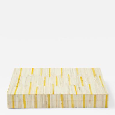 Natural Yellow Bone Box