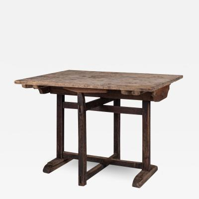 Naturally Bleached Oak Wine Tasting Table