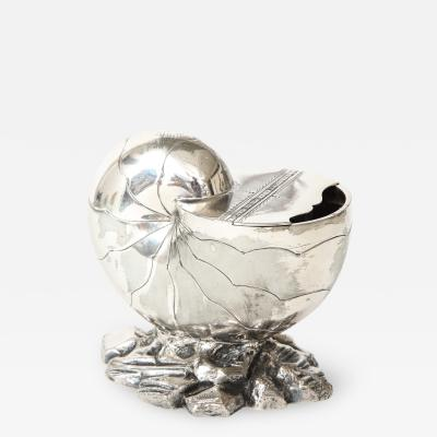 Nautilus in silver plated