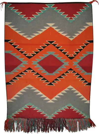 Navajo Dine Germantown blanket