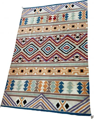 Navajo Dine Late Classic serape early 1870s